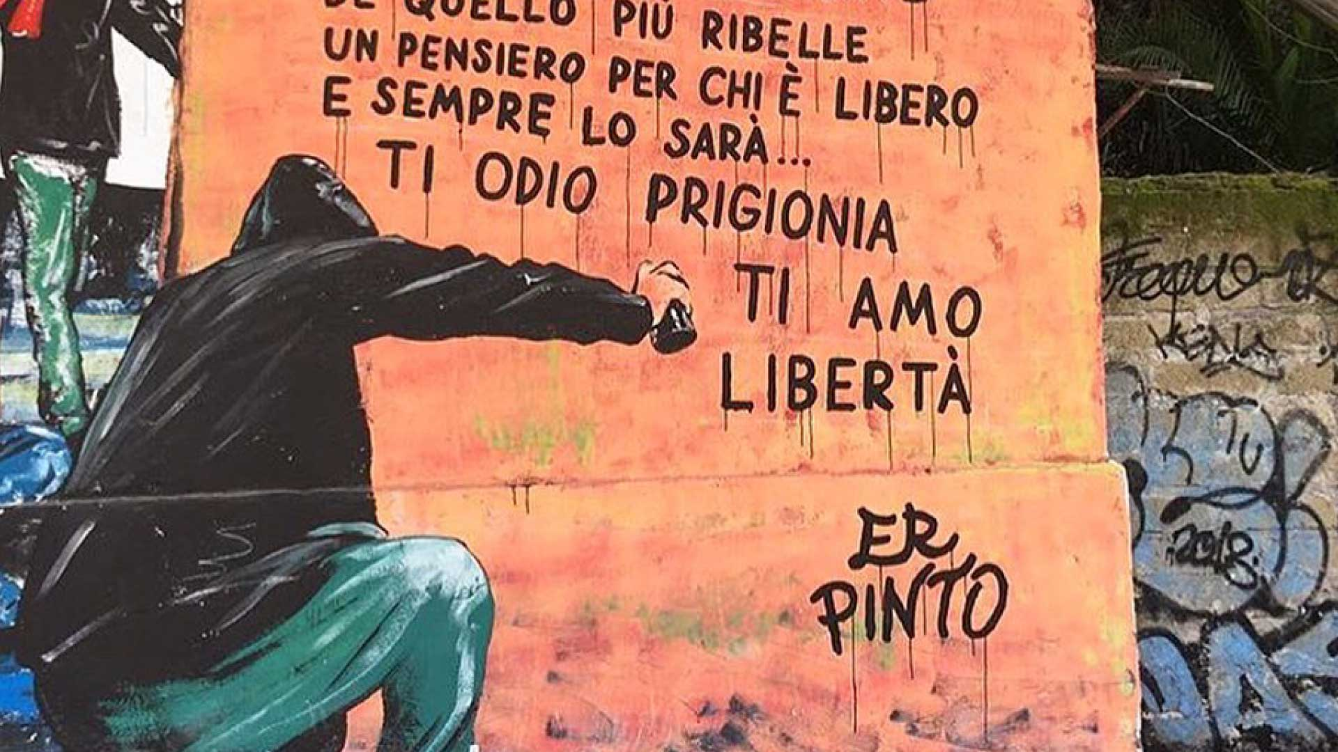 Intervista a er Pinto: il valore delle parole e della strada
